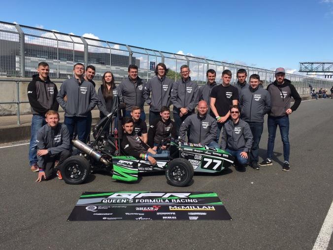 QFR team pic - car